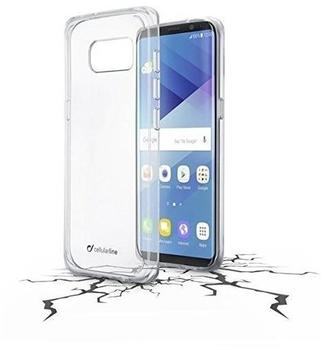 Cellular Line CLEAR DUO Backcover Schutzhlle fr Samsung Galaxy S8 (Transparent)