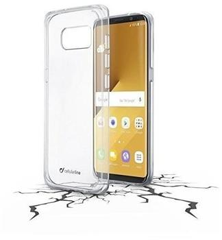 Cellular Line CLEAR DUO Backcover Schutzhülle für Samsung Galaxy S8+ Transparent