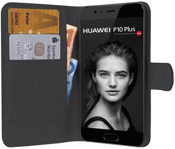 PEDEA Book Cover Classic für Huawei P10 Plus, schwarz