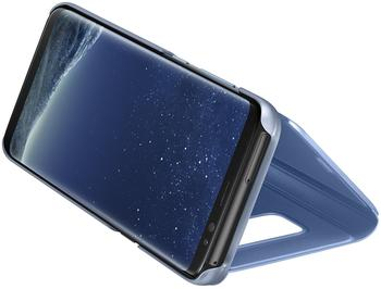 Samsung Clear View Standing Cover (Galaxy S8) blau