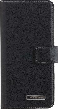Peter Jäckel COMMANDER BOOK CASE ELITE Black Galaxy S8