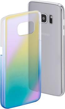 Hama Cover Mirror (Galaxy S8) gelb/blau