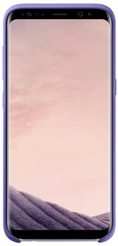 Samsung Silikon Cover (Galaxy S8) violett