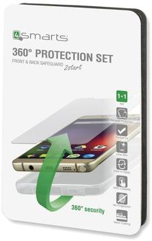 4smarts 360° Premium Protection Set Galaxy S8, clear weiß