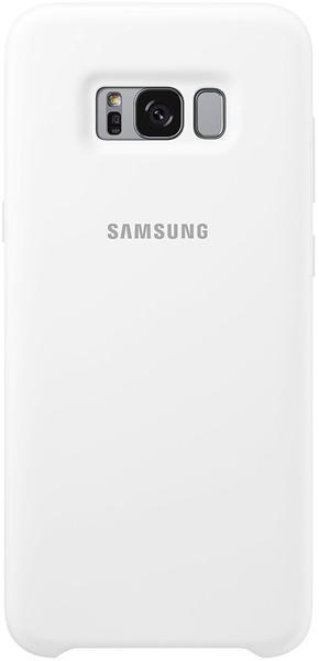 Samsung Silikon Cover (Galaxy S8+) weiß
