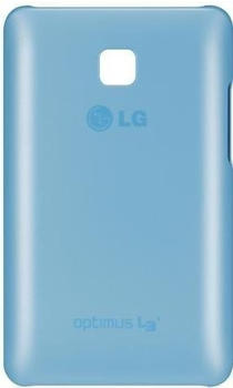 LG Hardshell Case blue (LG Optimus L3 II)