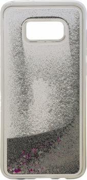 Peter Jäckel 16100 Back Cover Glamour Schutzhülle für Samsung Galaxy S8+ (Silber)