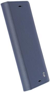 Krusell Malmö 4 Card FolioCase für Sony Xperia XA1, Blau