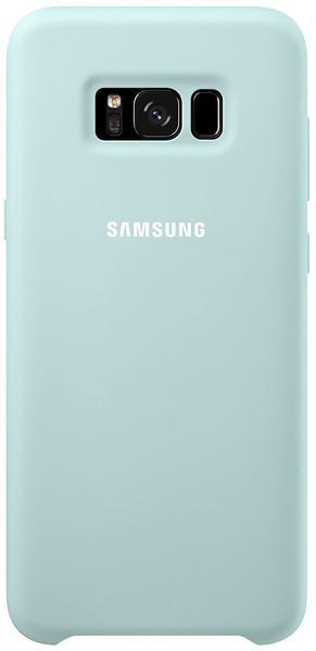 Samsung Silikon Cover (Galaxy S8+) blau