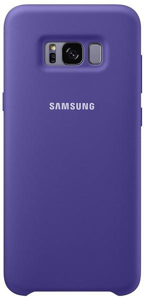 Samsung Silikon Cover (Galaxy S8+) violett