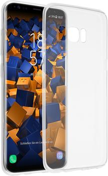 mumbi TPU Hülle Ultra Slim transparent für Samsung Galaxy S8