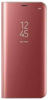 Samsung Clear View Standing Cover (Galaxy S8+) pink