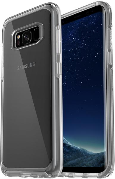 OtterBox Symmetry Clear (Galaxy S8) clear crystal