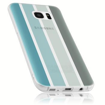 mumbi Schutzhülle für Samsung Galaxy S7 Hülle Winter Edition
