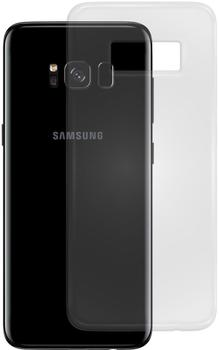 PEDEA Soft TPU Case (glatt) für Galaxy S8, Transparent