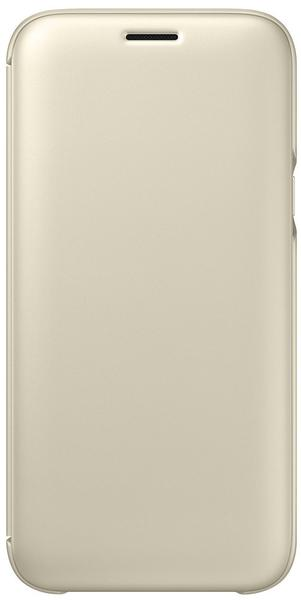 Samsung Wallet Cover (Galaxy J5 2017) gold