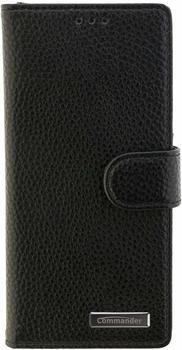 Peter Jäckel COMMANDER BOOK CASE ELITE Sony Xperia XA 1 black