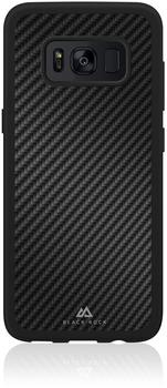 "Hama 00180425 Smartphone-Cover ""Material Real Carbon"" Samsung Galaxy S8 (Schwarz)"