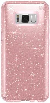 Speck Presidio Clear + Glitter (Galaxy S8) clear/pink