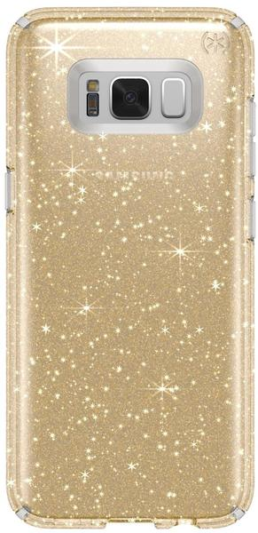 Speck Presidio Clear + Glitter (Galaxy S8) clear/gold