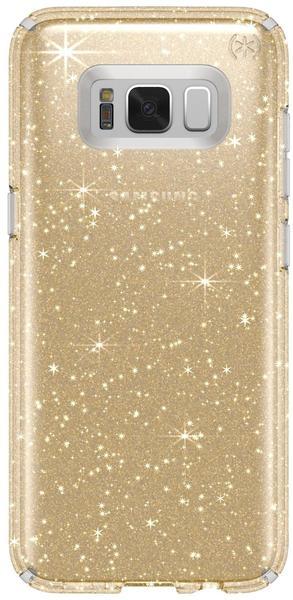 Speck Presidio Clear + Glitter (Galaxy S8+) gold