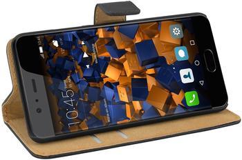 mumbi Bookstyle Tasche schwarz für Huawei P10