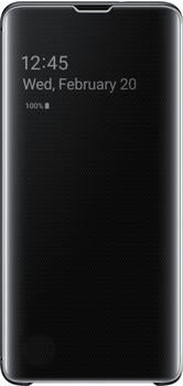 Samsung Clear View Cover (Galaxy S10) schwarz