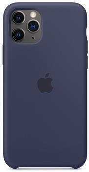 Apple Silikon Case (iPhone 11 Pro) Mitternachtsblau