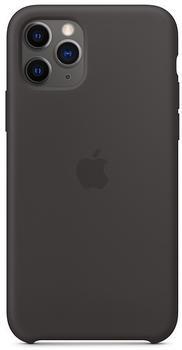 Apple Silikon Case (iPhone 11 Pro) schwarz