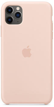 Apple Silikon Case (iPhone 11 Pro Max) Sandrosa