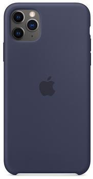 Apple Silikon Case (iPhone 11 Pro Max) Mitternachtsblau