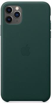 Apple Leder Case (iPhone 11 Pro Max) Waldgrün