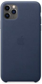 Apple Leder Case (iPhone 11 Pro Max) Mitternachtsblau