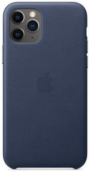 Apple Leder Case (iPhone 11 Pro) Mitternachtsblau