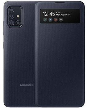 Samsung S View Wallet Cover EF-EA515 (Galaxy A51) schwarz
