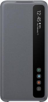 Samsung Clear View Cover (Galaxy S20) grau