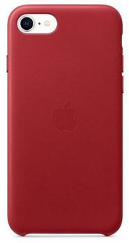 Apple Leder Case (iPhone SE 2020) RED
