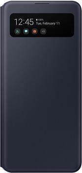 Samsung S View Wallet Cover (Galaxy A41) Schwarz