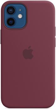 Apple Silikon Case mit MagSafe (iPhone 12 mini) Pflaume
