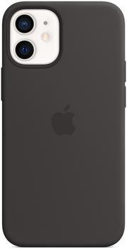 Apple Silikon Case mit MagSafe (iPhone 12 mini) Schwarz
