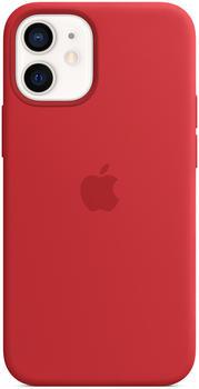 Apple Silikon Case mit MagSafe (iPhone 12 mini) RED