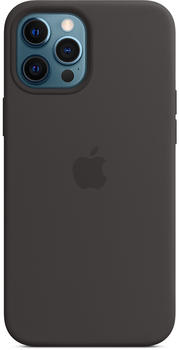 Apple Silikon Case mit MagSafe (iPhone 12 Pro Max) Schwarz