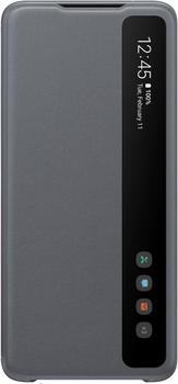 Samsung Clear View Cover (Galaxy S20 Ultra) grau