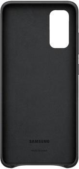 Samsung Leder Cover (Galaxy S20) schwarz