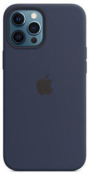 Apple Leder Case mit MagSafe (iPhone 12 Pro Max) Baltischblau