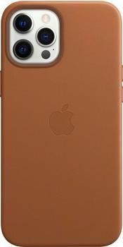 Apple Leder Case mit MagSafe (iPhone 12 Pro Max) Sattelbraun