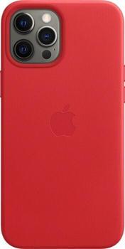 Apple Leder Case mit MagSafe (iPhone 12 Pro Max) RED