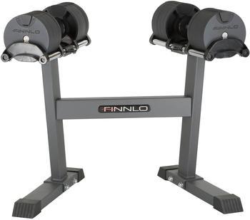 Finnlo Maximum Smart Lock Hantel-Set 2x32 kg inkl. Ständer