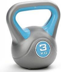 York Fitness Vinyl Kettlebell - 3kg