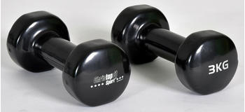 Christopeit Fitness Dumbbell Vinyl 2 x 3 kg